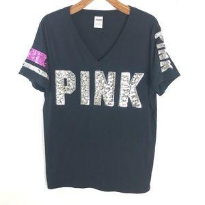 Victoria Secret Pink sequin shirt